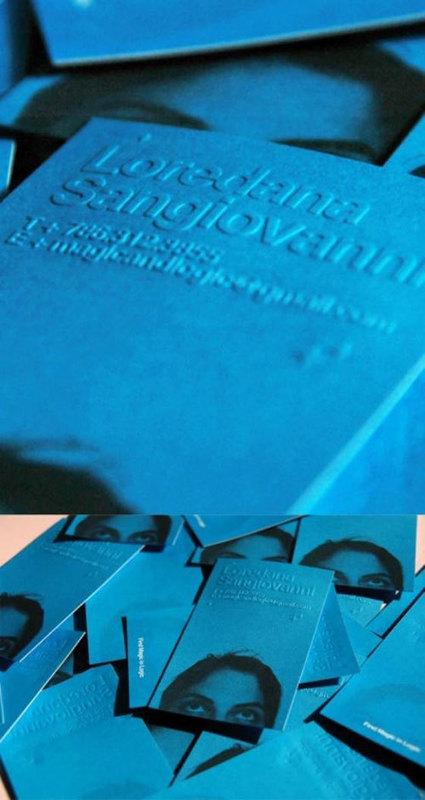 60 Beautiful & Creative Embossed Business Cards | Diseño y Creatividad | Scoop.it
