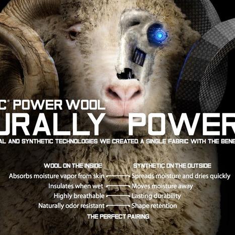 Polartec Introduces Polartec® Power Wool™ - The International News Magazine   Textile Intelluctual Property   Scoop.it