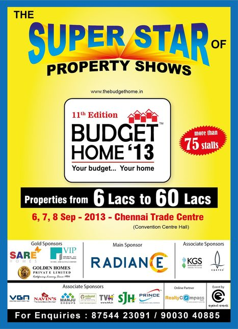 Largest show of Budget properties has arrived! | Residential Apartments in Chennai | Scoop.it