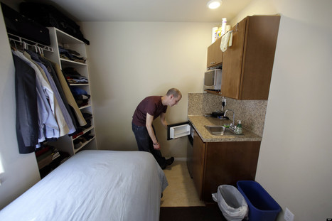 Micro Living Trend Sweeps The US, As Cash-Strapped Renters Look For ... - Huffington Post   Affordable Housing   Scoop.it