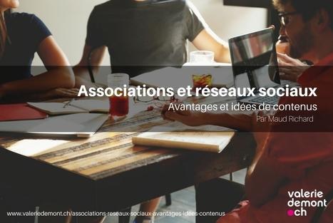 Associations et réseaux sociaux – avantages et idées de contenus | Entrepreneuriat et économie sociale | Scoop.it