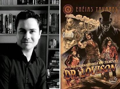 Entrevista com Enéias Tavares, o criador da série Brasiliana Steampunk | Ficção científica literária | Scoop.it
