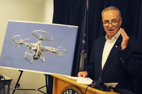 """Senator Charles Schumer Calls for Crackdown on Commercial Drones"" | Private Investigators | Scoop.it"