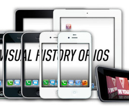 iOS: A visual history | Tibz' tech news (Social Media, Startup, Technology, Publishing and Entrepreneurship) | Scoop.it