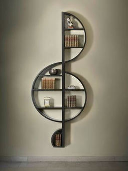 Best Creative Bookshelves Ideas for Music Lovers- Home Decor | World Important days and Events | Scoop.it