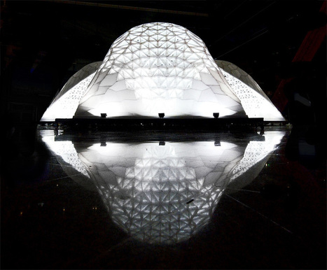 VULCAN: the world's largest 3D-printed architectural pavilion | Digital Design and Manufacturing | Scoop.it