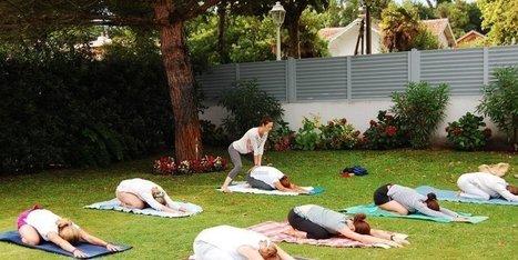 Du yoga itinérant sur les pelouses des habitants - Sud Ouest   yoga iyengar   Scoop.it