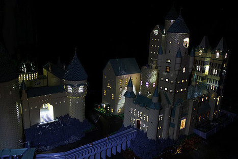 Someone made a Lego Hogwarts - The Info Bay | Harry Potter | Scoop.it
