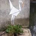 New Banksy Origami piece | Street Art, échappatoire de l'oeil | Scoop.it