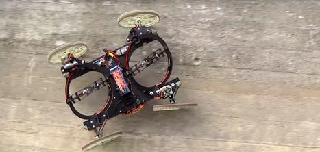 Disney crée un robot capable de rouler sur les murs   Ressources pour la Technologie au College   Scoop.it
