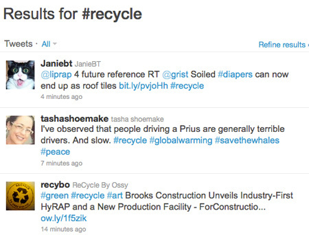 10 Twitter Hashtags That Make It Easy to Follow the Latest Green News   Transition Culture   Scoop.it