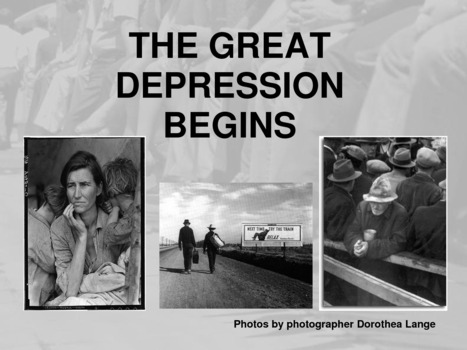 NBC Learn: The Start of the Great Depression | Roll of Thunder Hear My Cry | Scoop.it