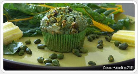 Recette sans gluten : muffins salés noisette/blette/spiruline | Recettes sans gluten et sans caseine | Scoop.it