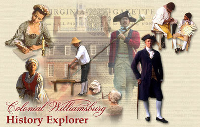 Explore History at Colonial Williamsburg : The Colonial Williamsburg Official History & Citizenship Site | TA Library - US History Resources | Scoop.it