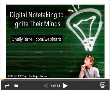 Digital Notetaking to Stimulate Their Minds : Teacher Reboot Camp | APRENDIZAJE | Scoop.it