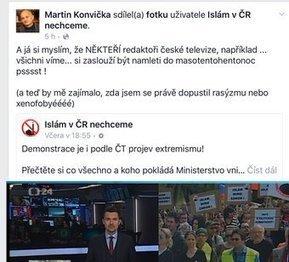 Konvička by semlel do masokostní moučky i novináře Tweet from @MichalKubal | ANFAS | Scoop.it