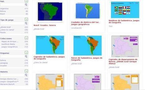 80 Mapas Interactivos de Sudamérica para la clase de Geografía   Educación con Innovación   Scoop.it