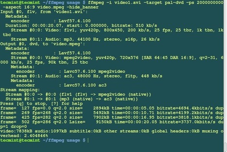 15 Useful 'FFmpeg' Commands for Video, Audio and Image Conversion in Linux - Part 2 | #h4ckdi0v1su4l | Scoop.it