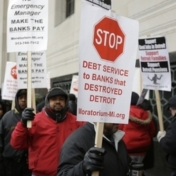 Detroit Bankruptcy: Wall Street, Lost Revenues Forced Decline, But City Pensioners to Pay the Costs | Coffee Party News | Scoop.it