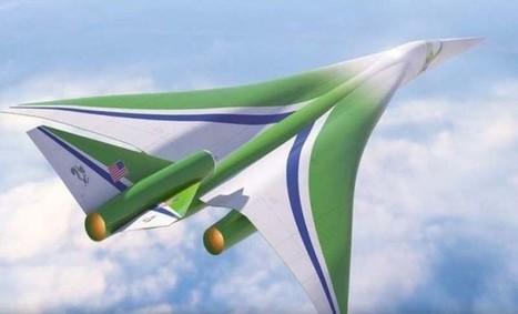 La NASA quiere desarrollar un avión supersónico y silencioso | Blogística | Scoop.it
