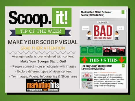 Scoop.it Tip of the Week - MAKE YOUR SCOOP VISUAL! | MarketingHits | Scoop.it