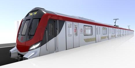 Lucknow metro design revealed   EricJ 's Railway Topics   Scoop.it