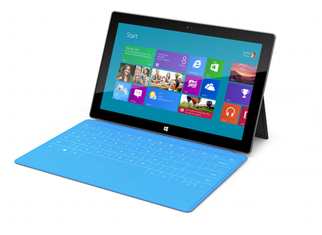 Microsoft Surface screen falls short of Retina iPad, but outperforms iPad 2 | Mobile Technology | Scoop.it