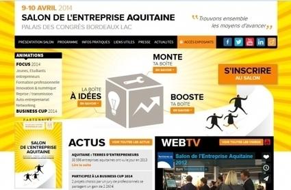 Salon de l'Entreprise Aquitaine 2014 : participez à la Business Cup et gagnez 2250 € | Entreprise | Scoop.it