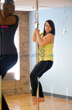 VIDEO: Pole fitness newest option for women in Tyler - Tyler Morning Telegraph   Fitness & Wellness   Scoop.it