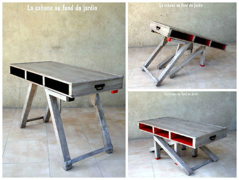 1001 recycling ideas - Table basse et haute ...