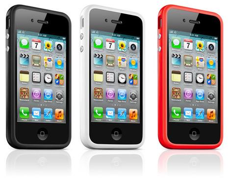 iPhone 4 et 4S : Apple va réduire les couleurs du bumper | Geeks | Scoop.it