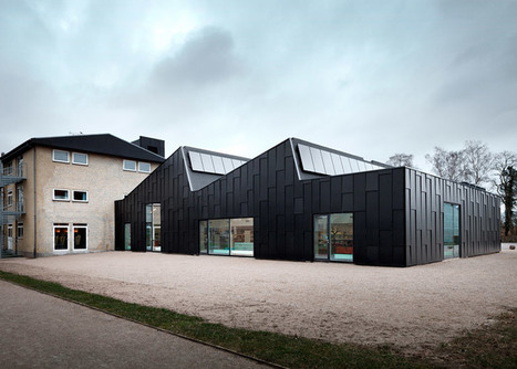 Primus Arkitekter transforms factory into a library and cultural centre - Dezeen | Digital Collaboration and the 21st C. | Scoop.it