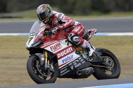 A bittersweet day for the Ducati Superbike Team at Motorland Aragon | Ductalk Ducati News | Scoop.it