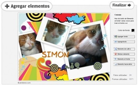 Photovisi, un excelente servicio para crear originales collages en minutos | Edu-Recursos 2.0 | Scoop.it