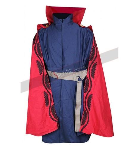 Benedict Cumberbatch Doctor Strange Blue Costume | Replica Movies Leather Jackets | Scoop.it