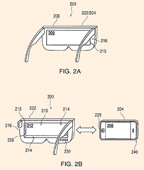 Apple wins patent for wireless head-mounted display using iPhone for connected glasses | digital mentalist  and cool innovations | Scoop.it
