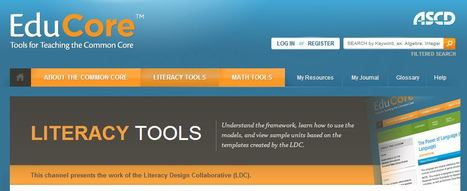 ASCD Educore - Channels - Literacy Tools - LDC | K-12 Research, Resources and Professional Learning Materials for English Language Arts | Scoop.it
