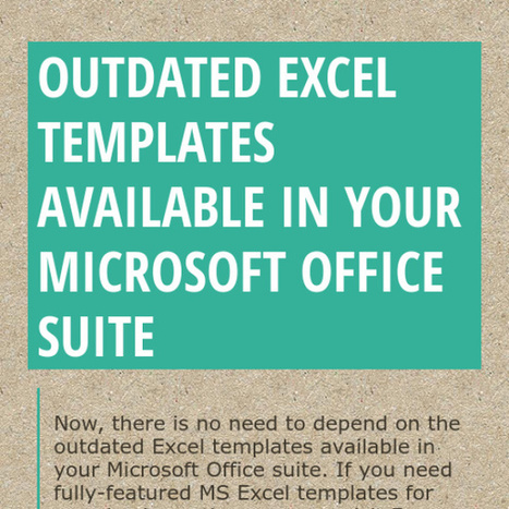 Online Microsoft Excel Templates | Free Microsoft Office Templates | Scoop.it