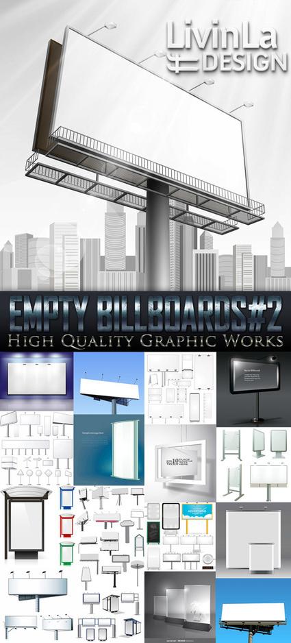Exclusive - Empty Billboards#2, 17xEPS | DesignFeed | Scoop.it