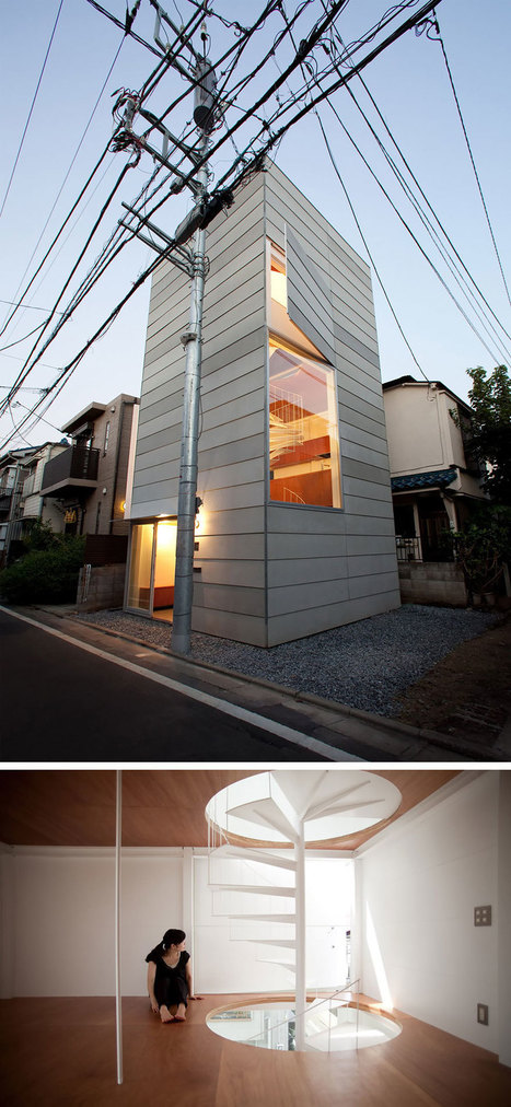 20+ Tiny Homes That Make The Most Of A Little Space   Expérimentation Arti-Geeky-Nerdy   Scoop.it