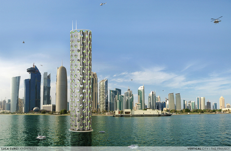 Une ville verticale (et flottante) | Dans l'actu | Doc' ESTP | Scoop.it