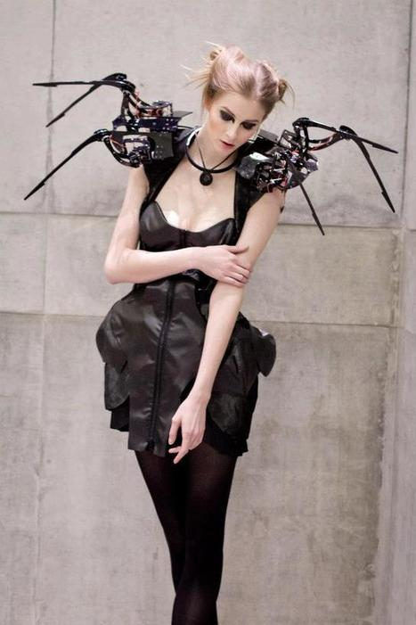 Robotic Couture - Fashioning Technology | Hobbyes Radio, electronics, robot and DIY | Scoop.it