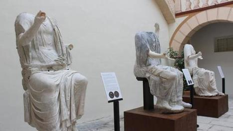 Las estatuas sedentes de Torreparedones son únicas en el Imperio Romano | LVDVS CHIRONIS 3.0 | Scoop.it