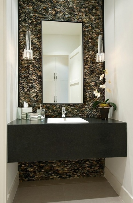 Bathroom Design Ideas With Natural Concept | Anebref.com | Architecture Design | House Design Pictures | Decoration ideas | A. Perry Design Lounge | Scoop.it