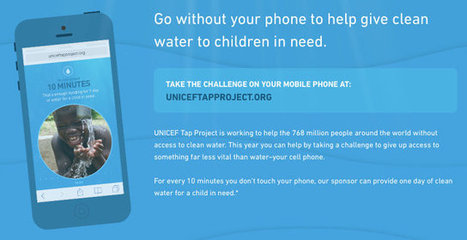 If You Can Stay Off Your Phone For 10 Freaking Minutes, Kids In Need Will Get Clean Water | MarketingHits | Scoop.it