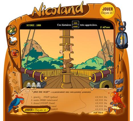 Orthographe sur Nicoland: jeux et exercices pour enfants | FLE enfants | Scoop.it