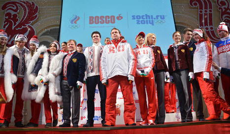 2014 Olympic Uniforms from Around the World | Stuff I found...interesting! | Scoop.it