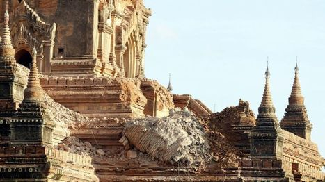 Myanmar earthquake: One dead and temples damaged | BBC | Centro de Estudios Artísticos Elba | Scoop.it