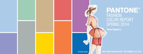 Pantone Announces Fashion Color Report Spring 2014 | Ziehl Vintage Fashion | Scoop.it