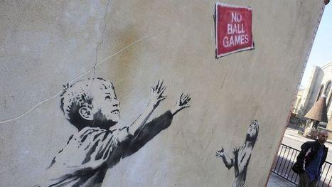 Razzia sur le street art londonien   Street Art   Scoop.it